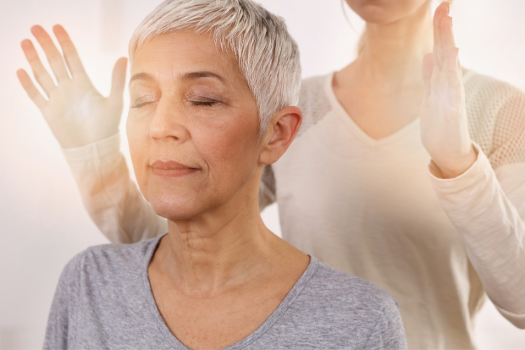 Reiki Therapy - Physical and Mental Health in Seniors